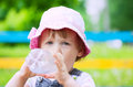 Child Drinking From  Bottle Royalty Free Stock Photos - 25004578