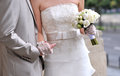 Bride And Groom Hands Stock Images - 25005074
