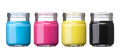 Ink In Cmyk Stock Image - 25022541