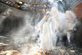 Beautiful Angel Woman In Theatre Royalty Free Stock Image - 25028266