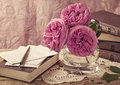 Pink Roses Stock Images - 25040154