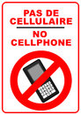 No Mobile Phones Sign Stock Images - 25052434