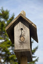 Wooden Birdhouse Stock Photography - 25056782