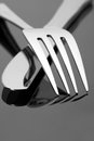Fork And Knife Royalty Free Stock Photo - 25057385