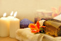 Object For The Spa With Candle Stock Photography - 25062662