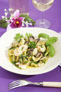 Orecchiette With Broccoli With Seafood Royalty Free Stock Image - 25064626