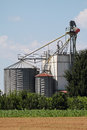 Farm Silos Stock Photography - 25082112