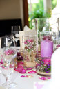 Delicate Floral Table Centrepiece Stock Photography - 25092382