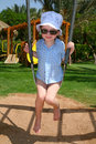Girl On The Swing Royalty Free Stock Photos - 2514048
