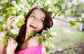 Laughing Woman Stock Image - 25105701