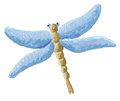 Cute Blue Dragonfly Royalty Free Stock Images - 25106749