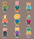Animal Worker Stickers Stock Photo - 25114540