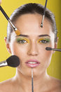 Make Up And Full Beauty Treatment Stock Images - 25126474