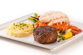 Petite Fillet And Lobster Stock Photography - 25139192