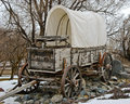 Covered Wagon Royalty Free Stock Images - 25141679