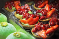 Fruit Cakes Royalty Free Stock Images - 25146589