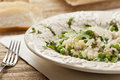 Healthy Vegetarian Italian Risotto Royalty Free Stock Images - 25146839