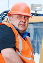 Senior Builder At Work Stock Photo - 25172580