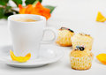 Coffee Cup And Muffins Stock Photography - 25179492