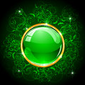 Green Button Royalty Free Stock Image - 25185066