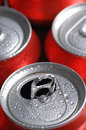 Cans Of Soft Drink Or Beer Stock Photo - 2529100