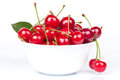 Bowl With A Cherry Royalty Free Stock Images - 25204289