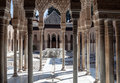 Courtyard Of The Lions Royalty Free Stock Photography - 25207437