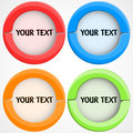 Set Of Colorful Buttons Stock Photos - 25210263