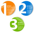 One Two Three - Vector Cards With Numbers Royalty Free Stock Photo - 25226055
