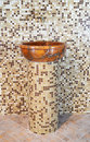 Wash Basin Made ​​of Stone Royalty Free Stock Photos - 25229188