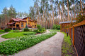 Wooden Mansion Stock Photo - 25233130
