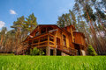 Wooden Mansion Stock Image - 25233161