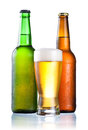 Brown And Green Bottles Full Of Condensate Royalty Free Stock Photo - 25237545