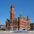 City Hall In Helsingborg, Sweden Stock Images - 25245944