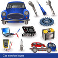Car Service Icons Royalty Free Stock Photos - 25250978