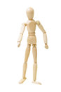 Wooden Figure Stock Photography - 25255002