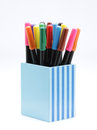 Color Pens Royalty Free Stock Photo - 25258885