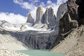 Torres Del Paine Mountain And Lake Stock Images - 25287844