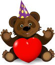 Festive Bear Royalty Free Stock Images - 25290019