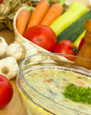 Vegetable Soup Stock Photography - 25293142