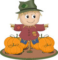 Smiling Scarecrow Stock Photography - 25296522