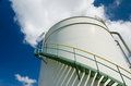 Oil Storage Tank Stock Image - 25296841