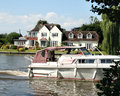 Boat On The River Thames Stock Photography - 2530522