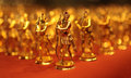 Golden Toy Soldiers Royalty Free Stock Photos - 25322458