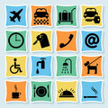 Hotel Pictograms_4-01 Royalty Free Stock Photography - 25325897