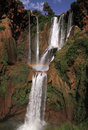 Morocco Ouzoud Waterfall Royalty Free Stock Photos - 25330468