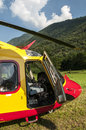 Emergency Rescue Helicopter Stock Photography - 25343222