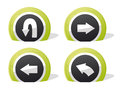 Return Icons Stock Images - 25349994