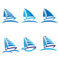 Set Of Boats Royalty Free Stock Photography - 25354417