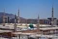 Prophet S Mosque Green Dome Stock Images - 25357764